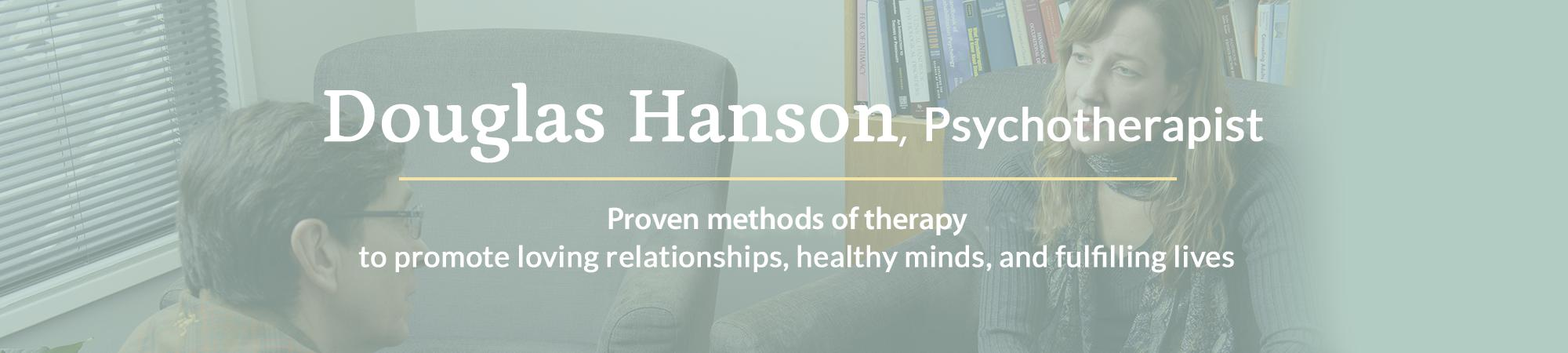 Douglas Hanson Therapist header image
